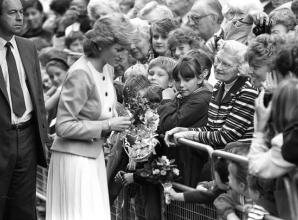 Remember When: A visit from Princess Diana and Steve Redgrave's Olympic parade