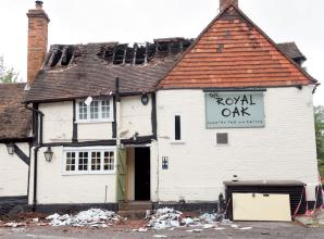 Marlow pub closed after fire sets reopening target