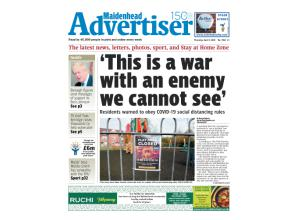 Read the latest edition of the Maidenhead Advertiser online for free