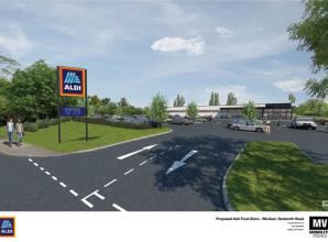 Decision to be made on new Aldi in Windsor and Maidenhead apartments