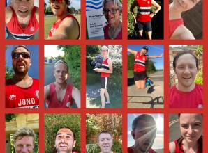 Maidenhead Athletic Club members young and old take on fastest mile competition