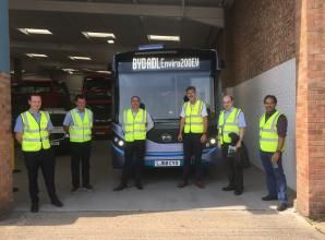Temporary electric bus route to Slough town centre will begin in October