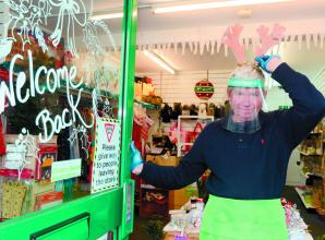 Age Concern urges charity shop customers to splash out for Christmas pre lockdown