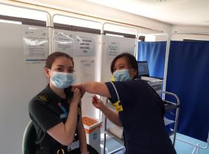 Wexham Park Hospital reaches vaccination milestone with 40,000th dose delivered