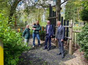 Prince Philip and Louis Baylis trust's support Crazies Hill charity with IT upgrade