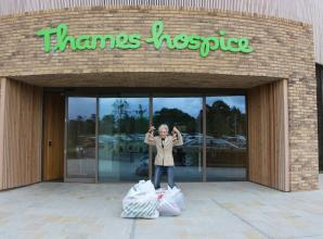 Singer and actress Anita Dobson gets first Thames Hospice tour