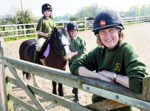 Windsor Horse Rangers benefits from Louis Baylis grant