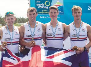 Former Maidenhead Rowing Club rower Victor Kleshnev part of Team GB at World Rowing u23 Championships
