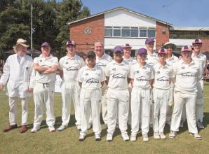 In pictures: Exhibition cricket game at Maidenhead & Bray Cricket Club