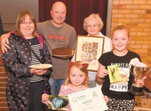 Record numbers display produce at autumn horticultural show in Twyford