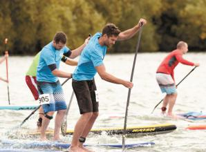 In pictures: British paddleboarding championships at Bray Lake