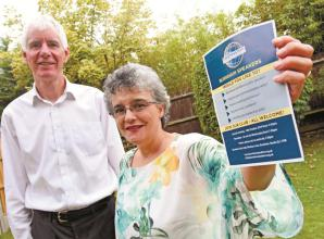 Two members of Toastmasters are lauching a speakers group in Burnham