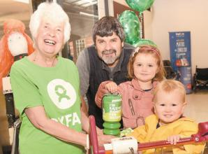 Fundraiser thanks 'old friends' for Oxfam donations
