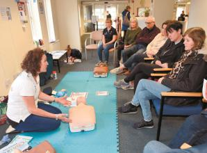 Life-saving skills learnt at Marlow Surgery