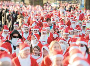 Charity news (October 31): Marlow Santa's Fun Run reaches 2,000 entries