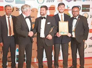 Marlow eatery wins regional restaurant award in London