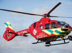 Thames Valley Air Ambulance call-outs surge by 110 per cent