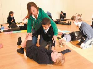 Oldfield Primary School pupils given lessons in first aid