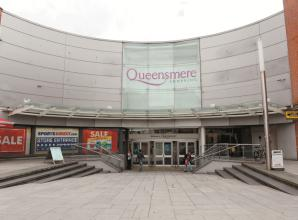 Firefighters attend fire at Queensmere Shopping Centre