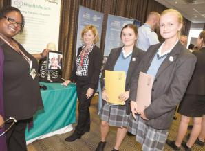 Desborough College careers fair a 'real eye opener'