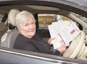 Elderly woman from Burnham threatened with legal action over parking fine
