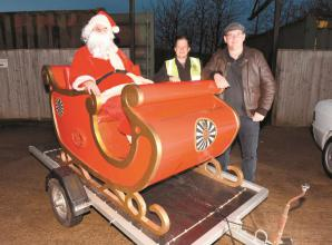 Santa set to tour Maidenhead and Cookham on his sleigh