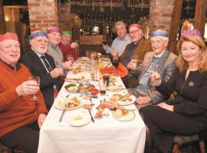 Sir Michael Parkinson joins Men's Matters Christmas lunch