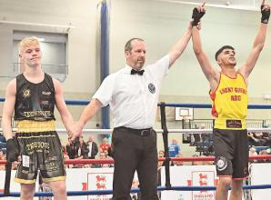 Lucky Gloves boxer Hassan goes from novice to national champion in just three years