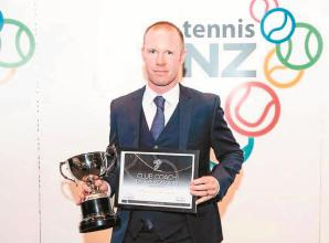 Former Desborough student named club coach of the year by Tennis New Zealand