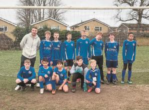 Maidenhead B&G FC u14s Colts keep first clean sheet of the season to beat Camberley Town Youth Rangers