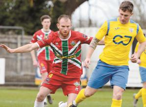 'We could've nicked more than a draw against Westfields', says Windsor FC's Paul Coyne