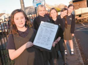 White Waltham CE Academy pupil 'demands' traffic calming measures with petition
