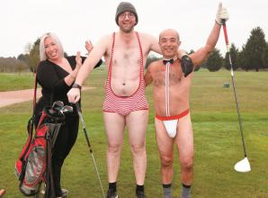 Bray community news (January 30): Round of golf with a difference raises £870 for charity