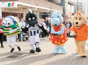 Shrove's Tuesday Pancake Race on King Street