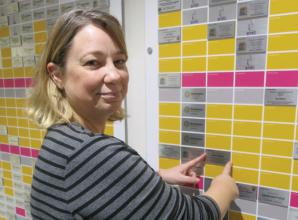 Cookham community news (March 12): Bereaved wife adds tile to wall of hope