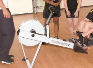 Great Marlow School rowers join in races at virtual Bewl Head