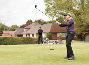 Maidenhead Golf Club members tee up small but significant step towards normality