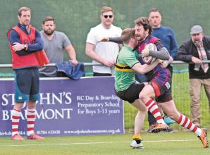 Former British & Irish Lion Greenwood sets and expects high standards from Maidenhead RFC's players