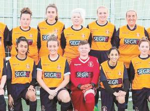 Slough Town Ladies run and walk 1,751 miles in May to raise money for NHS charities