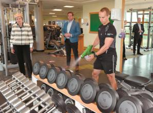 Gyms ready to reopen following Government green light