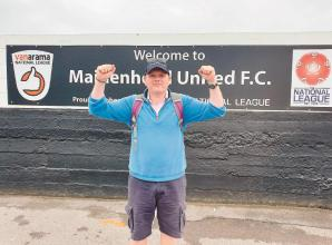 Magpies CEO Jon Adams completes 150km walking challenge for charity