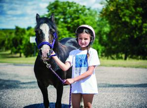 6-year-old raises more than £1,000 for horse rescue centre