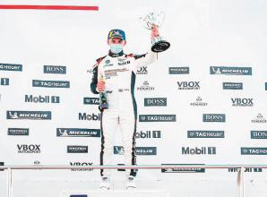 Rookie driver King storms into early lead in Porsche Carrera Cup