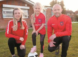 Free-of-charge places left at Cookham Dean FC WildCats for girls