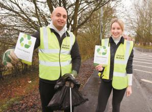Litter pick to be carried out by Charvil Matters