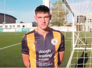 Slough Town unveil striking new men's and women's home shirt