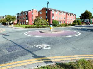 Calls to improve safety by 'dangerous' roundabout after teenager knocked off bike