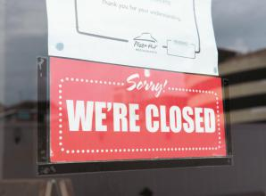 Small businesses worry over footfall after chains close