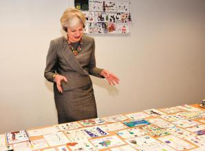Still time to enter Theresa May Christmas card competition
