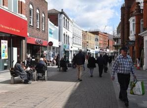 'Superb' first week back for Maidenhead shop owner as rules ease